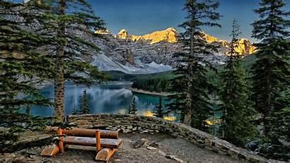 Canada Wallpapers Lake Banff Louise Pixelstalk Landscape