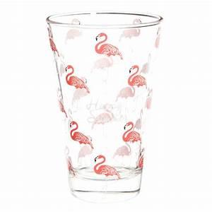 Verres à Vin Maison Du Monde : hohes glas happy flamingo maisons du monde ~ Teatrodelosmanantiales.com Idées de Décoration