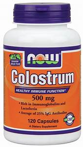 Colostrum 500mg 120 Capsule