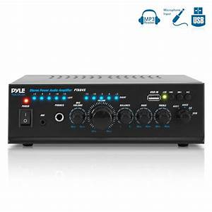 Pylehome - Ptau45 - Home And Office - Amplifiers - Receivers - Sound And Recording