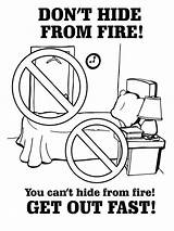 Coloring Safety Pages Fire Prevention Printable Electrical Educational Print Recommended Mycoloring sketch template