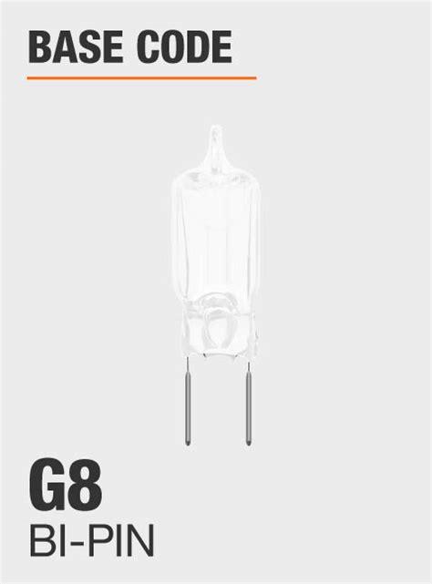 bulb halogen g8 light watt xenon pack electric feit base code overview depot