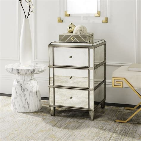 How To Make Mirrored Nightstand — The Wooden Houses