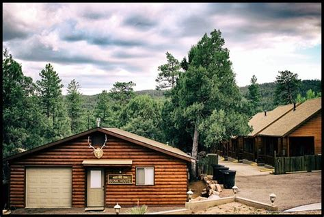 cabins in payson winter wooden nickel picture of wooden nickel cabins