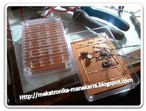 Mekatronika Manakarra  Membuat Lampu Led Strobo Mengunakan
