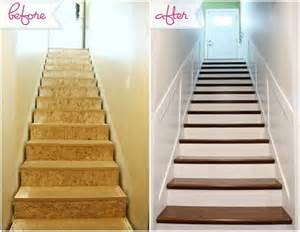 25 best ideas about staircase makeover on stair makeover redo stairs and painted
