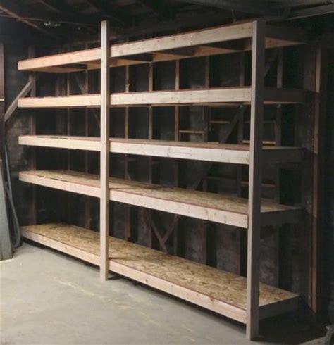 Shop Storage Shelves storage shelves for the garage shop by southhollow