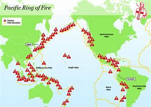Ring Of Fire Map  Where Is The Bali Volcano  Terrifying