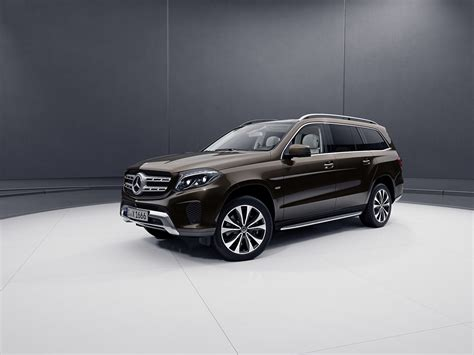 2019 Mercedesbenz Gls Grand Edition Turns Up The Luxury