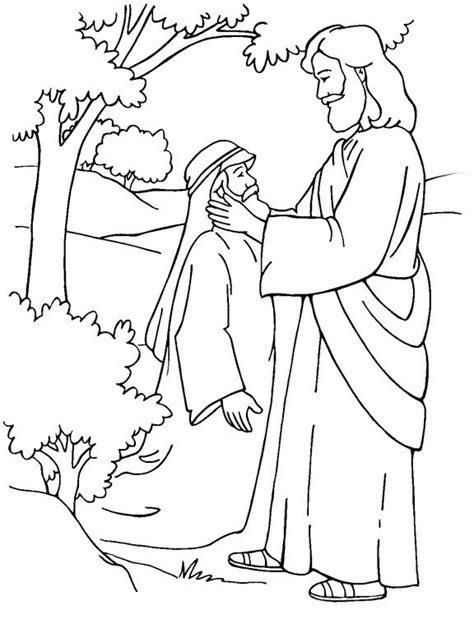 17+ images about Jesus' Miracles Coloring pages on
