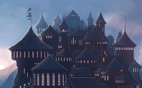 wallpaper hogwarts harry potter magic school