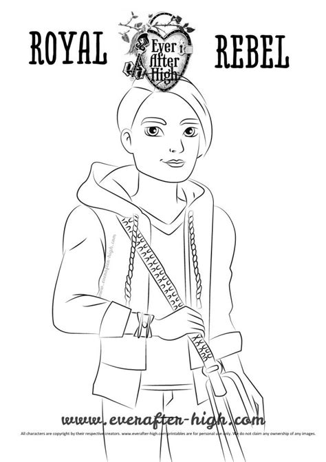 After High Kleurplaat Hanter En Eswing huntsman coloring page after high free