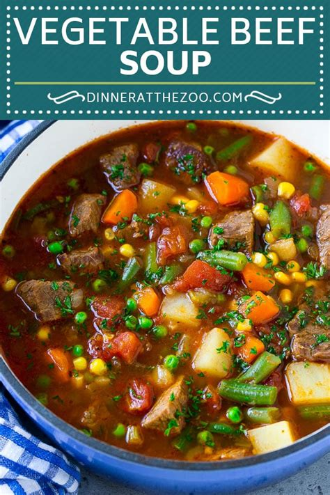 vegetable beef soup dinner   zoo
