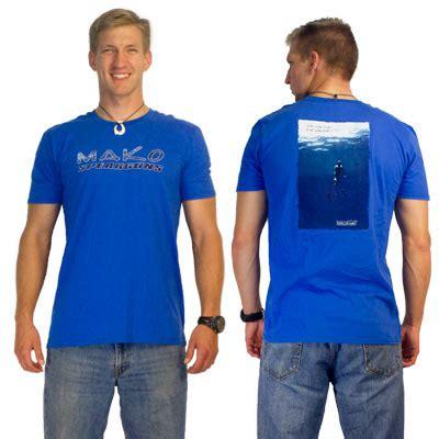 Mako Boats T Shirts by T Shirts Mako Spearguns