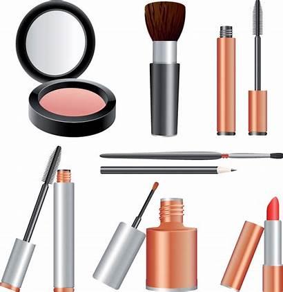 Makeup Clip Cosmetics Vector Clipart Beauty Variety