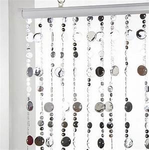 Rideau De Perles Ikea : rideau de porte perles plates argent rideau de porte ~ Dailycaller-alerts.com Idées de Décoration