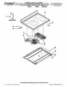 Parts For Maytag Mer8880as0  Cooktop Parts