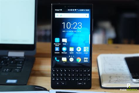 test du blackberry key2 une exp 233 rience unique