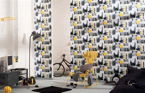 papier peint chambre ado york papier peint chambre ado photos de conception de maison