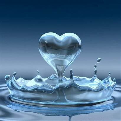 Animated Water Heart Hearts Lovers Missing