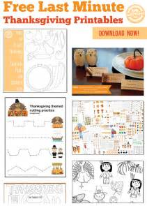60 last minute free thanksgiving printables