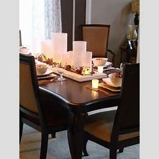 Dining Table Decor For Perfect Dinner  Traba Homes