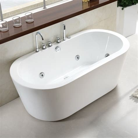 57 Inch Freestanding Tub by 71 Inch Acrylic Freestanding Soaking Tub 1800mm