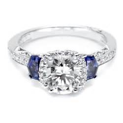 top sapphire wedding ring with tacori and sapphire engagement ring style best - Engagement Ring Sapphire Accent
