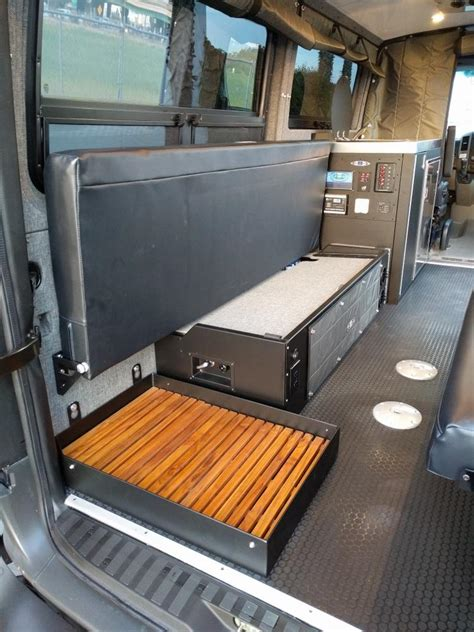 sprinter van removable shower pan wb rb components