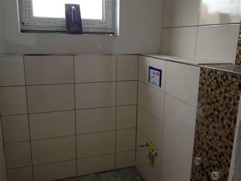 Hochwertige Baustoffe: Bad Nur Halb Gefliest
