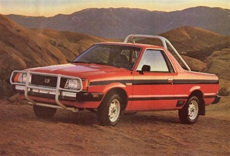 subaru brat baja hooniverse what the truck weekend the subaru brat and