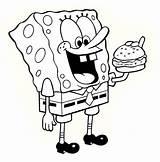 Coloring Bob Sponge Pages Spongebob Colouring Drawings Sheets Children Printable Characters Fun Dibujos Para Number sketch template