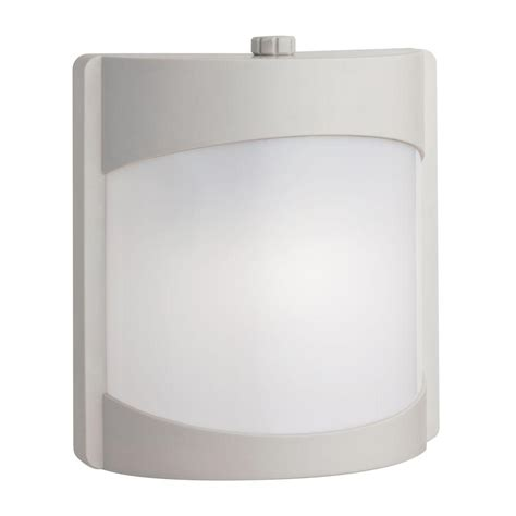 contemporary wall light fluorescent lithonia lighting white outdoor fluorescent wall