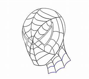 How To Draw Spiderman Face   www.pixshark.com - Images ...