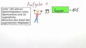 Zinsrechnung Tage Berechnen : anteile und br che in prozent ausdr cken mathematik online lernen ~ Themetempest.com Abrechnung