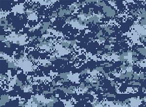 Blue Digital Camo | Digital Camouflage, Blue by MikeSoto ...