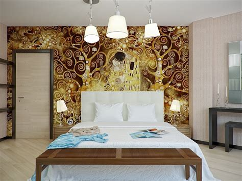 Bedroom Decorating Ideas Brown And Gold by Gold Brown White Bedroom Scheme Interior Design Ideas