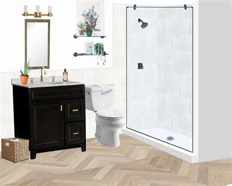 decorists design proposal  mock  bathroom