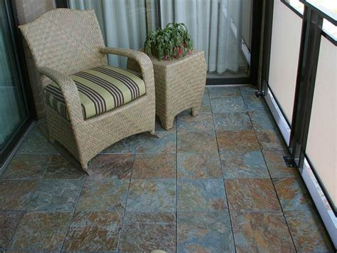 an slate patio in minutes with ezytile