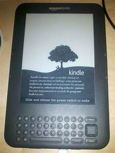 Good It Resume Amazon Kindle 3 E Reader Scott Bradford Off On A Tangent