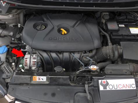 Diy Remove Install Serpentine Drive Belt Hyundai Elantra
