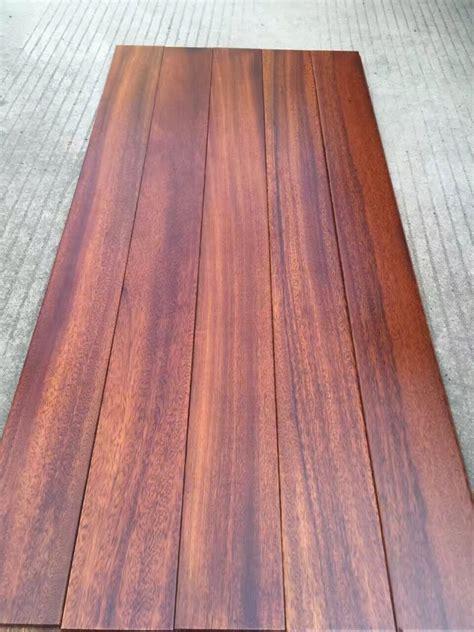 1200mm long plank exotic African hardwood flooring   Iroko