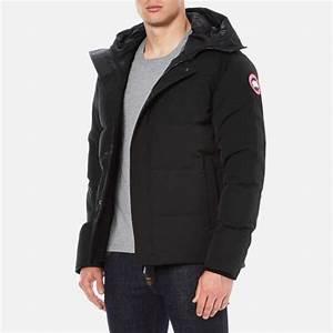 Canada Goose Men39s Macmillan Parka Jacket Black Free UK Delivery Over 50