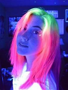 33 best images about Glow in the Dark Hair all neon like