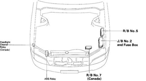 95 Lexu Es300 Fuse Box Diagram by Solved Where Is Fuse Box In A 97 Es 300 Lexus Fixya
