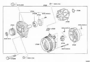 2007 Toyota Tundra Rotor Assembly  Alternator