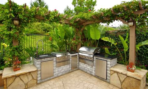 Backyard Barbecue Areas
