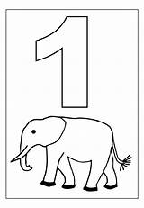 Coloring Number Pages Printable sketch template