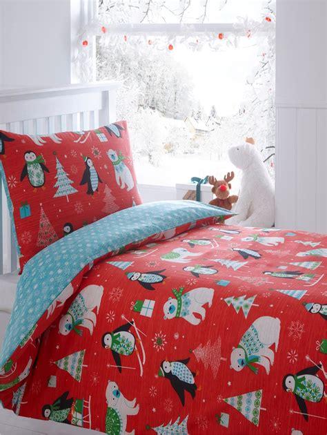 Christmas Kids Quilt Duvet Cover Bedding Bed Sets 5 Sizes