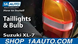 How To Install Replace Change Taillights And Bulb 2001